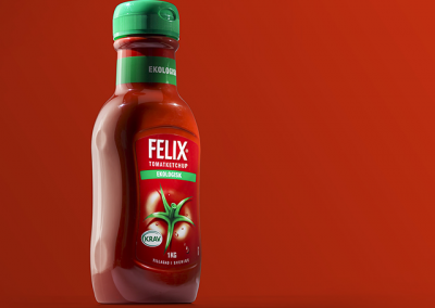product image bottle of ketchup